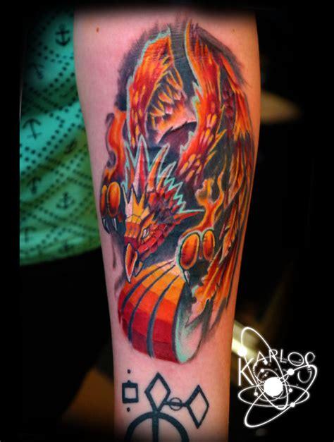 pheonix tattoos pheonix by karlos tattoonow
