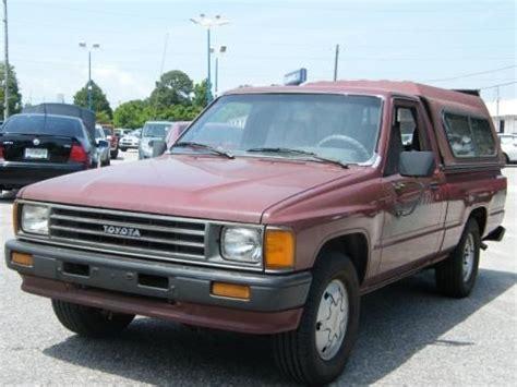 1987 Toyota Value 1987 Toyota Regular Cab Data Info And Specs