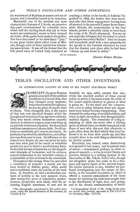 Nikola Tesla Poems Nikola Tesla Writings