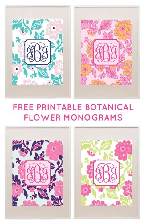 free printable monogram templates 25 best ideas about preppy binder covers on