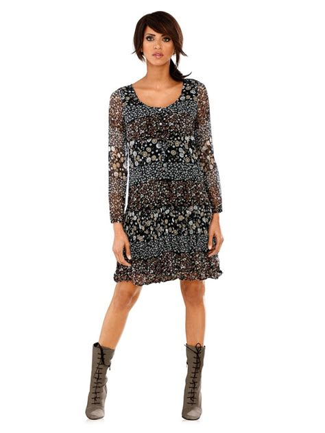 Robe Chic Manches Longues - top robes robe manches longues imprimee