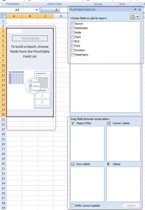 pivot table from separate sheets consolidate