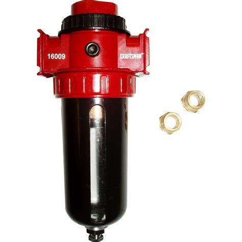 craftsman heavy duty air line filter air compressor accessories air ebay