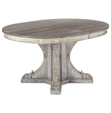 oval rustic dining table agnes country rustic oval extendable dining table