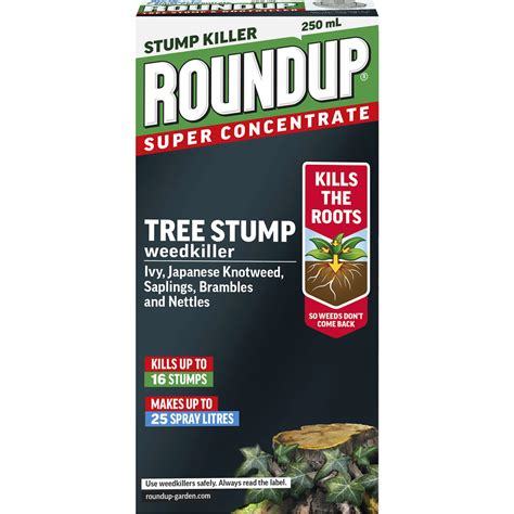 roundup tree stump killer 250ml at wilko