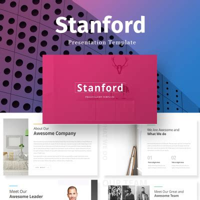 Real Estate Powerpoint Templates Templatemonster Stanford Ppt Template