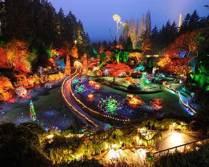 butchart gardens holiday lights christmas lights victoria bc christmas decorating