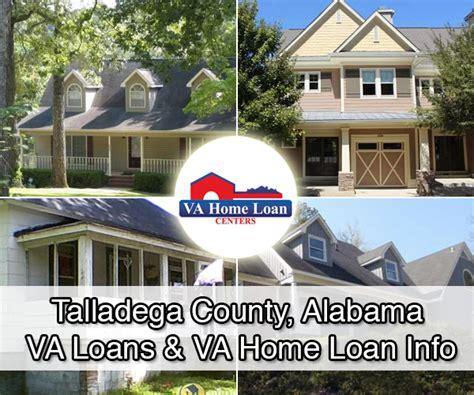 talladega county alabama va home loan property info