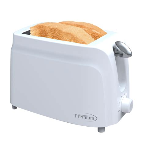 Small White Toaster Premium Appliances 2 Slice Toaster