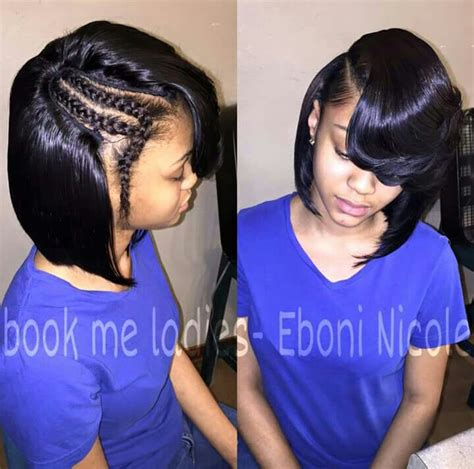 sew in bob hairstyles natural sew in bob hair pinterest bobs natural and