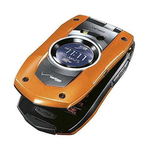 Casio Rugged by Verizon Casio Gzone Boulder No Contract Rugged Phone Orange