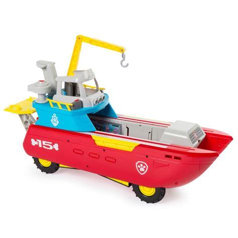 paw patrol boat toys spin master paw patrol sea patroller