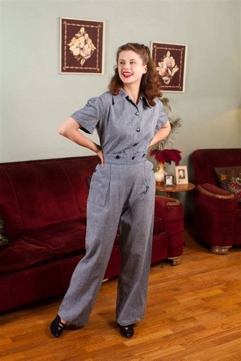 Rara Overall reserved vintage wwii coveralls tailored one