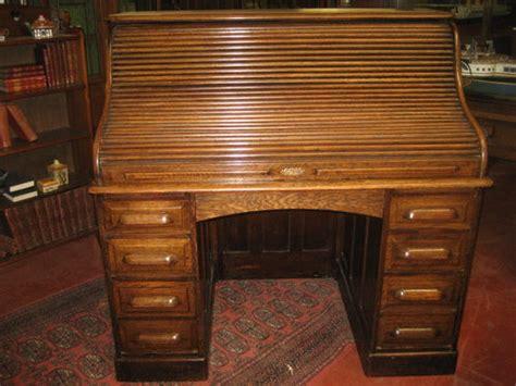 1920s Writing Desk 1920 S Oak Roll Top Desk Antiques Atlas