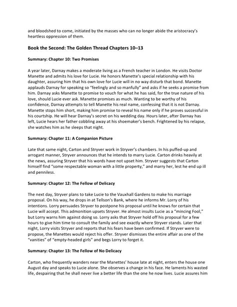 tale of two cities motif essay