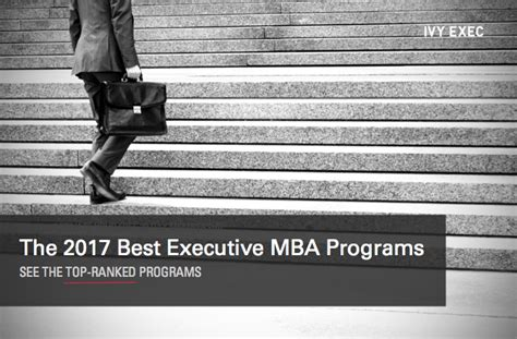 Executive Mba Rankings 2017 Us News by Study Reveals Top 16 Emba Programs In The Us Northeast