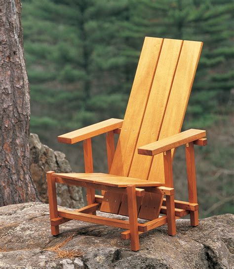 aw extra reitveld chair popular woodworking magazine