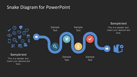 Creative Snake Diagram Powerpoint Template Slidemodel How To Templates For Powerpoint