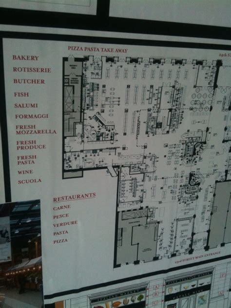 eataly floor plan eataly slated to open august 31st of square