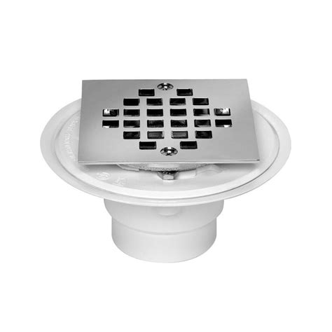 Oatey Shower Drains by Oatey 2 In To 3 In Pvc Shower Low Profile Square Drain