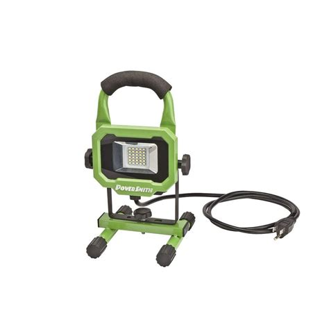 powersmith 15 watt 1400 lumens led portable work light