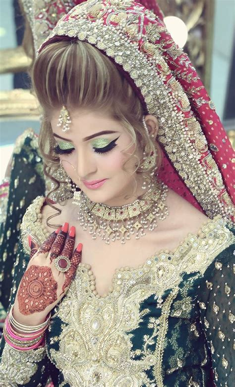New Bridal Pics by Kashees Bridal Hairstyle Fashion Make Up Parlour