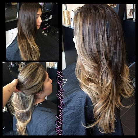 how to get ombre hair balayage american tailoring american tailoring foils and balayage combo ombr 233