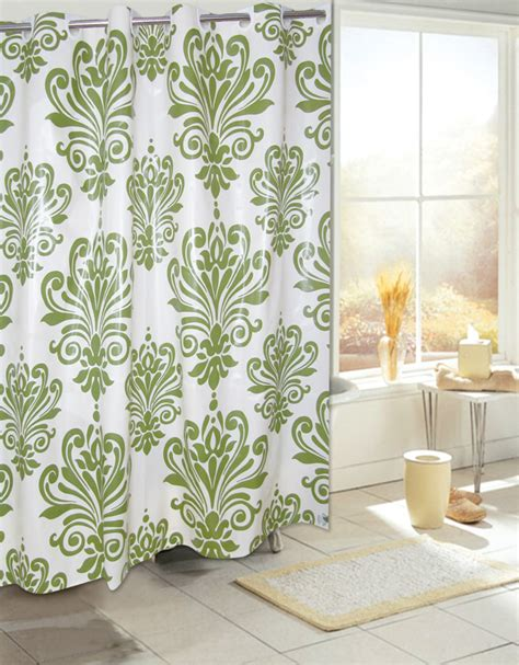no hook shower curtain carnation home fashions inc quot ez on quot peva shower