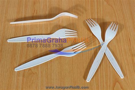 Eceran Sendok Makan Plastik Hitam Termurah garpu plastik plastik putih supra home