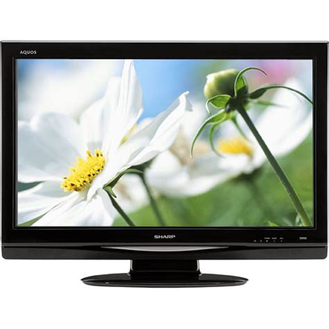 Tv Sharp Aquos Lc 32le260i sharp lc 37d44u 37 quot aquos 720p lcd tv lc 37d44u b h photo