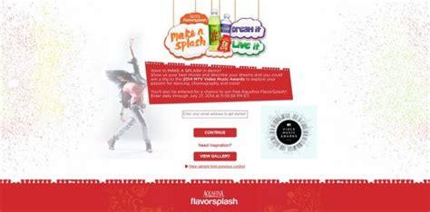 Contest And Sweepstakes 2014 - aquafina make a splash contest and sweepstakes