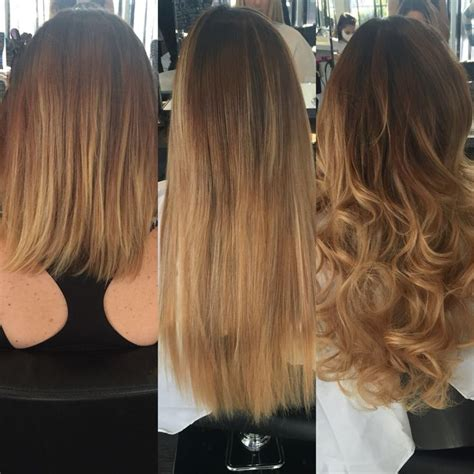 fusion hair extensions before and after 48 best images about fusion bond keratin bond extensions
