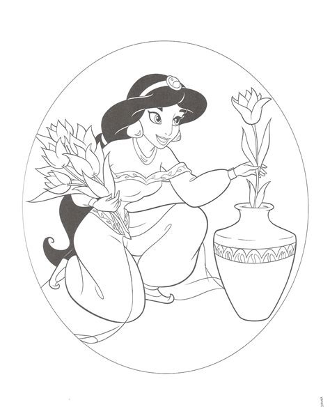 free coloring pages of princess jasmine princess jasmine coloring pages coloringsuite com