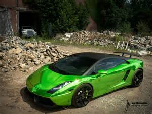 Green Chrome Lamborghini Green Chrome Lamborghini Gallardo Autoevolution