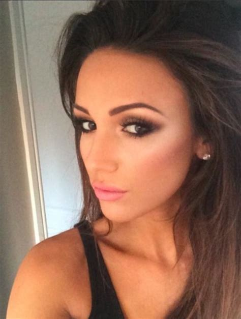 Copy Michelle Keegan's smoky eyes and contoured cheeks