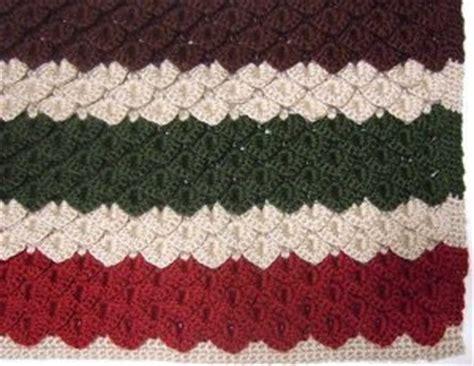 Crocodile Stitch Crochet Blanket by Crocodile Stitch Crochet Afghan Allfreecrochet
