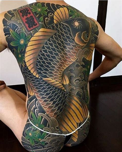 yakuza tattoo fish meaning japanese tattoos symbols meaning and design ideas