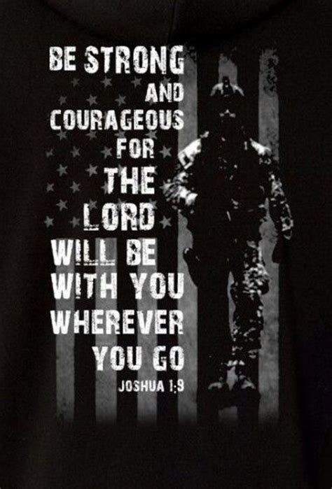 be strong and courageous joshua 1 9 navy christian pinterest the world s catalog of ideas