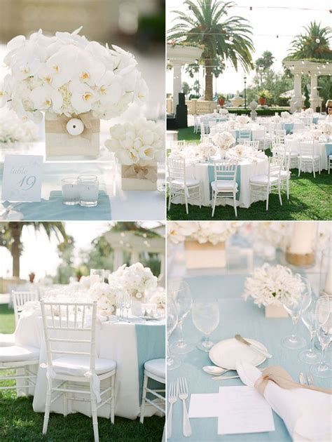 Light Blue Wedding Decorations