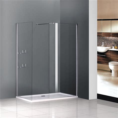 bathroom shower cubicles uk walk in shower enclosure wet room cubicle pivot glass