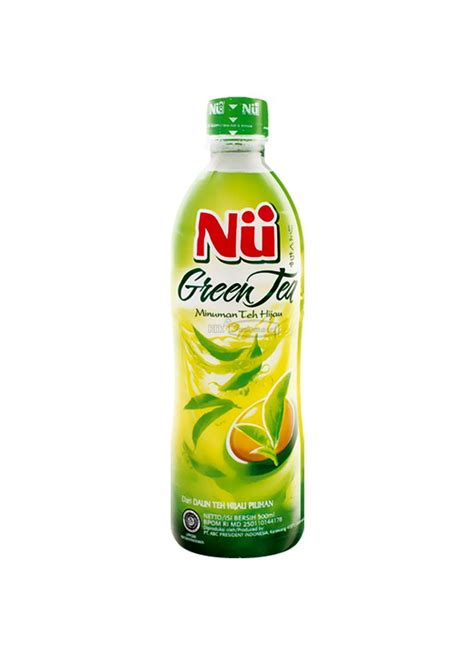 Teh Nu Green Tea nu minuman green tea original btl 450ml klikindomaret