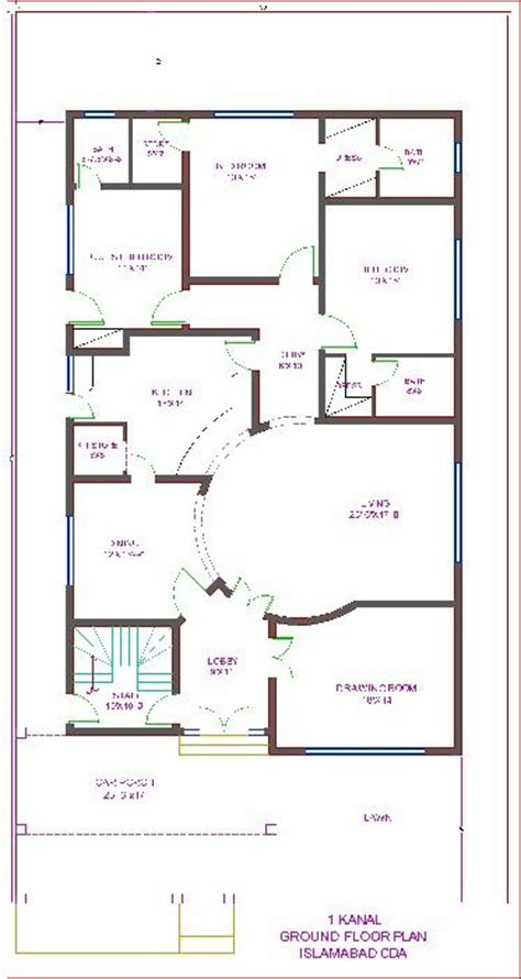8 Best Images About Dha House Map On Pinterest Wood Small House Plan Map