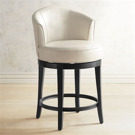 Isaac Swivel Bar Stool by Isaac Ivory Swivel Counter Bar Stool Products