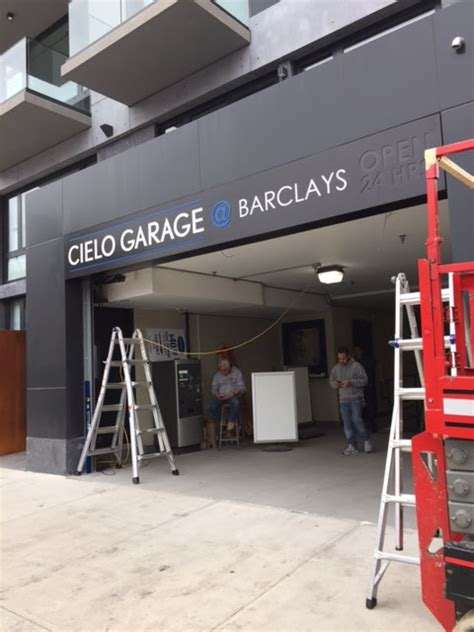 Parking Garage Near Barclays Center by Branding The Neighbors Cielo Garage Barclays Actually