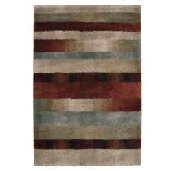 Shop Area Rugs Shop Orian Rugs Fading Panel Multicolor Rectangular Indoor Machine Made Area Rug Common 4 X 6