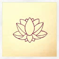 Lotus Simple Lotus Flower Design My Designs Flower