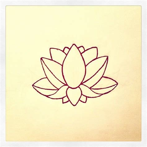 simple lotus tattoo designs lotus flower design my designs flower