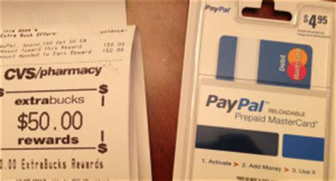 Paypal Gift Card Cvs - cvs 50 ecb for paypal gift card my frugal adventures