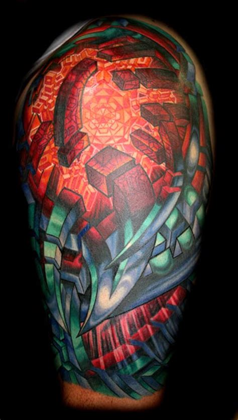 Bio Organic Half Sleeve By Mike Cole Tattoonow Mike Cole Tattoos Artist