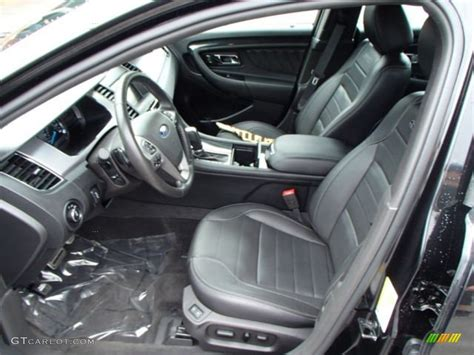 2013 Ford Taurus Sho Interior by Sho Charcoal Black Leather Interior 2013 Ford Taurus Sho
